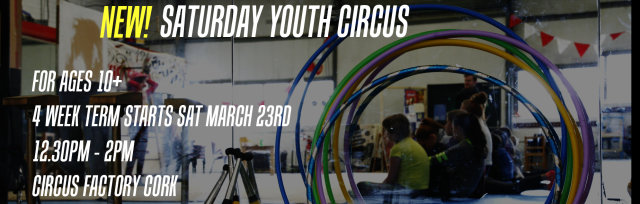 Saturday Youth Circus - 4 Week Term - Ages 10+