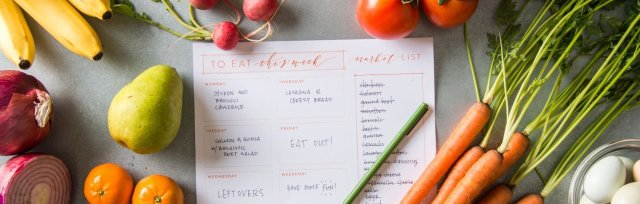 Healthy Habits: Meal Planning