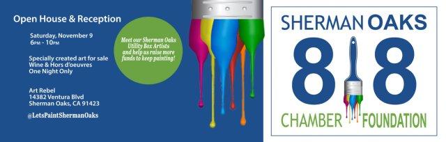 Let's Paint Sherman Oaks Fundraiser Open House