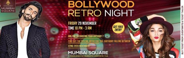 Bollywood Retro Night
