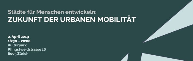 Zukunft der urbanen Mobilität: Städte für Menschen entwickeln