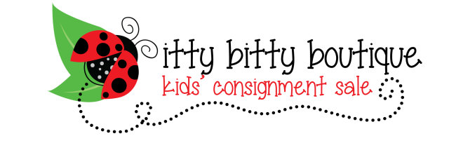itty bitty Kids' Sale EARLY BIRD PRE-SALE - Sept. 19th 12-8pm