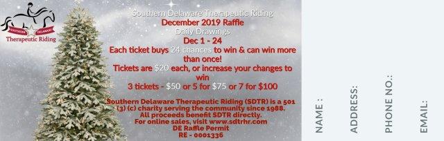 SDTR December 2019 Raffle Tickets On Sale Now!