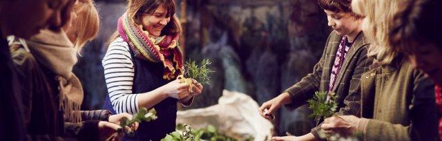 Christmas Wreath Workshop - Petal & Feast at Wild Sussex