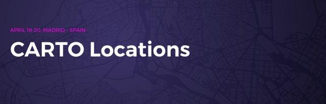 CARTO Locations Madrid