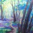 Bluebell Wood Acrylic workshop with Karen Carter [Ref#5211] image