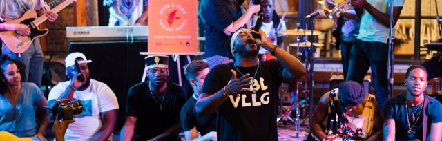 SXSW GLBL VLLG JAM live at Amplify Philly House (No Badge Necessary)