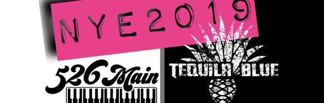 New Years Eve 2019 @ 526 Main Dueling Piano Bar  & Tequila Blue Nightclub Royal Oak
