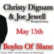 "Christy Dignam & Joe Jewell ""Some Songs & Stories"" Live at Boyles Of Slane image"