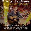Congregation Rodef Shalom and Rodef Music Underground Presents CRAIG TAUBMAN UP CLOSE AND INTIMATE image