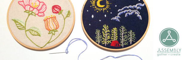 Beginner's Embroidery Class
