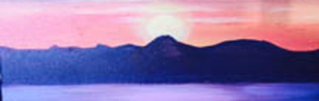 Paint & Sip! Moonlight Lake at 3pm $29 Upland