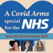 A Covid Arms special for the NHS – VIRTUAL FRONT ROW TICKET image