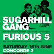 Sugarhill Gang & The Furious 5 // Chalk Brighton image