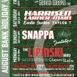 SNAPPA, Fantastique & The Sunday Affair live from Weston Rugby Club image