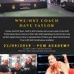 WWE/NXT Coach - Dave Taylor Wrestling Seminar image