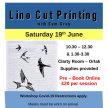 Linocut Printing with Sam Gray AM image