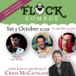 Flock Comedy – pro stand-up comes to Dunsden! image