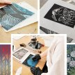 Introduction to Lino Cut Printing with Beth Jenkins - £74 image