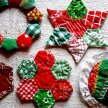 Patchwork Christmas Decorations with Claire Nicol - £40 image