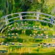 Paint & Sip! Water lillies under the bridge at 7pm $29 Upland image