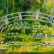 Paint & Sip! Monet waterlillies under the bridge 7pm $25 image