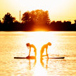 Sunset SUP Yoga Creve Coeur Lake July 15 image