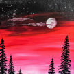"""Let's Paint """"Red Sky"""" image"""