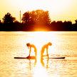 Sunset SUP Yoga Creve Coeur Lake May 21 image