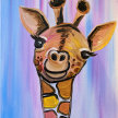 "Let's Paint ""Graceful Giraffe"" image"