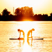 Sunset SUP Yoga Creve Coeur Lake Aug 28 image