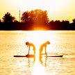 Sunset SUP Yoga Creve Coeur Lake May 28 image