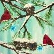 """Fun Art Night: """"Snow Angel"""" in Waynesboro image"""