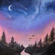 "Let's Paint ""Milky Way"" - Online image"