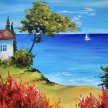 Clifftop Cottage Brush Party - Online image