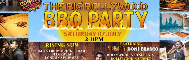 The Big Bollywood BBQ Party