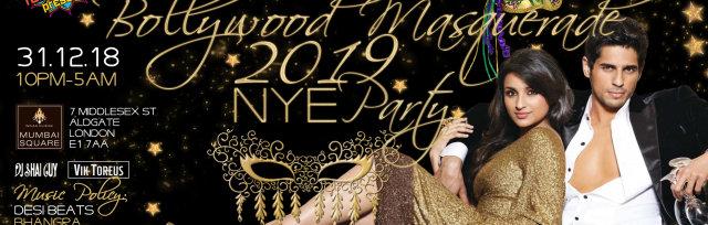 Bollywood Masqurade NYE Party
