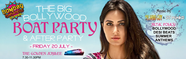 The Big Bollywood Boat Party & After Party