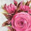 Pretty in Pink Brush Party - Online image