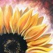 Sunflower Brush Party - Online image