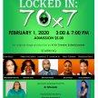 Locked-In:  70 x 7 - 3 pm image