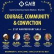 CAIR-NY's 21st Anniversary Gala- Courage, Community and Conviction image