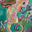 Paint & Sip!Salamander  at 7pm $29 Upland image
