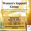Women's Support Group for those who have lost their Spouse, Domestic Partner, or Significant Other to death. image