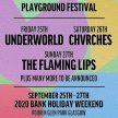 Playground Festival - 25th, 26th, 27th Sept 2020 image