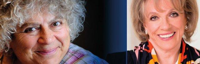 Dame Esther Rantzen in conversation with Miriam Margolyes