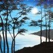 Moonlight on Cedars Brush Party - Online image
