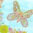 SPECIAL artbird party ONLINE | Mandala Schmetterling image