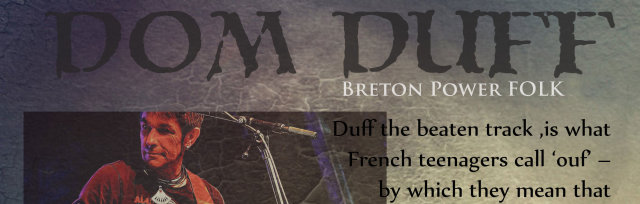 Dom Duff - Folk Rock from Brittany
