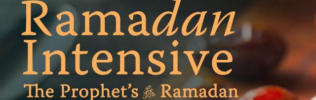 Sheffield: The Prophet's Ramadan